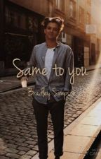 Same to you ~ Bradley Simpson by suggymaynard_