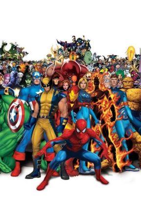 Marvel reader insert extravaganza ! by Ellana-Ravenwood