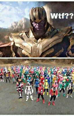 Đọc truyện Cuộc tấn công của Thanos với thế giới Super Sentai và Kamen Rider