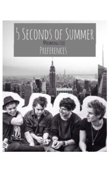 5SOS Imagines/Preferences #Wattys2016