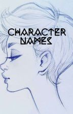 character names by fluffybun_bun