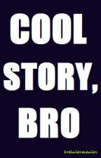 Cool Story, Bro by brainiacmaniac