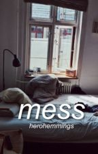 mess || cake au by herohemmings