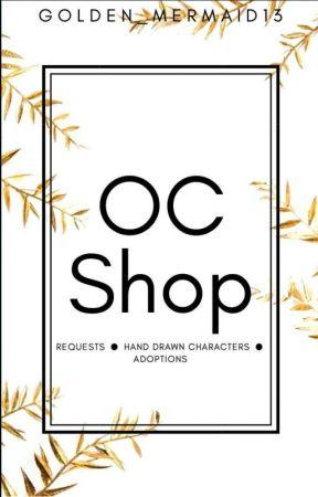 OC Shop {OPEN} by Golden_Mermaid13