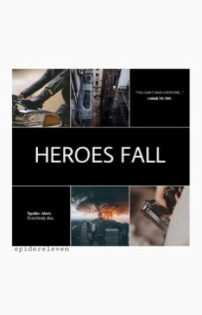 Heroes Fall [marvel au] || COMING SOON by spidereleven