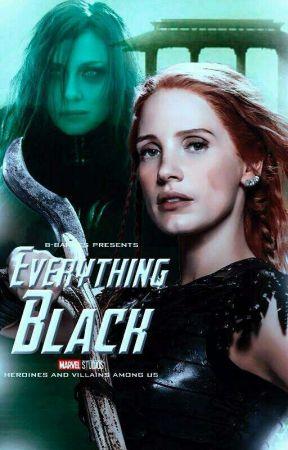 Everything Black ↻ Hela by b-barnes