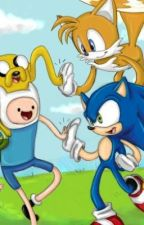 Sonic Meets Adventure Time by Ashurathehedghog