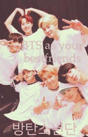 BTS as your bestfriends by smolmochu
