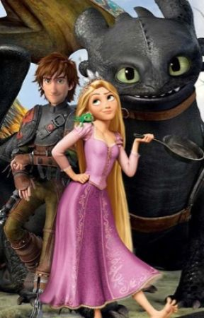 Tangled Up With Dragons - Rapunzel Meets Hiccup and