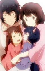the wolf children : Ame and Yuki by rrttill