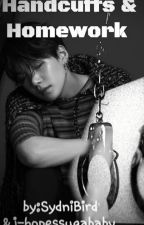 Handcuffs and Homework (Collab with @j-hopessugababy) by SydniBird