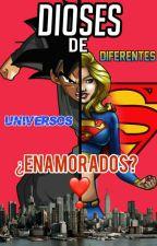 Dioses de diferentes universo ¿enamorados? (Black Goku x Super Girl) by -Superior_Black-