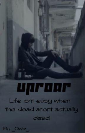 Uproar   BTS Zombie apocalypse by _Owlz_
