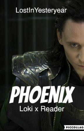 Loki x Reader • Phoenix - Wattpad