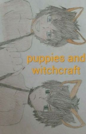 puppies and witchcraft by redcv135