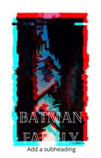 batman family by 444Lin888