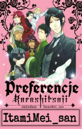 Preferencje Kuroshitsuji | ItamiMei_san by ItamiMei_san