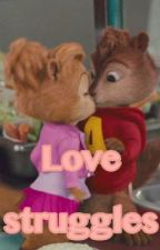 Alvin and Brittany: love struggles  by Brietjeee