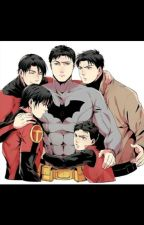 Batfamily  by SarahElizabeth1821