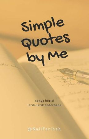simple quotes by me air mata wattpad