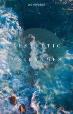 • aesthetic usernames: 2 • by ughrosie