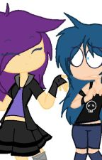 Dos fan girls en fnafhs by NironCreatif