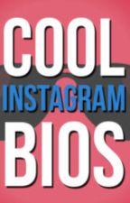 Cool Instagram Bios by itsioannespauleen