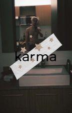 KARMA - A V- by blondehippie