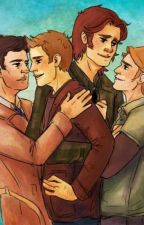 The boys next door (Destiel, Sabriel, Michifer)  by misunderstood_mayhem