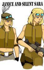 Janice and Silent Sara by dark_lore