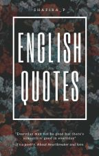 English Quotes by Shafira_P