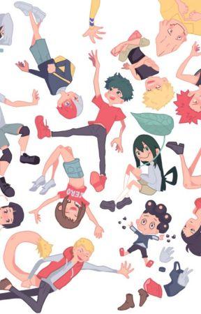 Boku no Hero Academia Oneshots by ChristinaSugarSprink