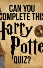 Harry Potter Quizzzz⚡⚡⚡ by Mandyisookiemand