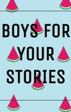 Boys for your stories  by Just-dreambig