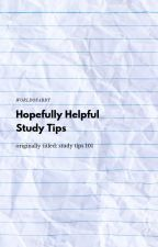 Study Tips 101 by worldofabby