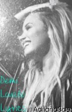 Demi Lovato Lyrics by AdrianaBae