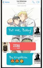 Txt me, Baby! [Texting Cz Eruri] by Kryofenix