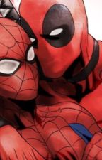 Deadpool and Spiderman by SilkyFewx