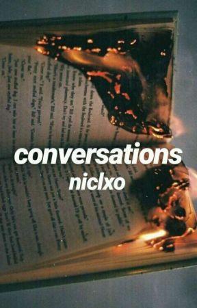 conversations // prinxiety ✓ - ♥ bonus - drunk logan