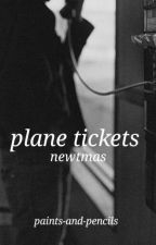 plane tickets // newtmas by paints-and-pencils