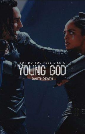 YOUNG GOD.  『 valki 』 by darthdeath