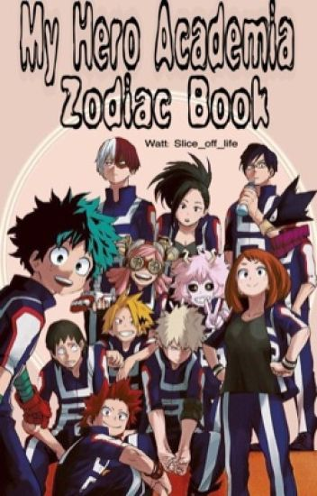 My Hero Academia Zodiac Book