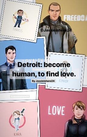 Detroit: To Become Human, To Find Love  - Markus x Connor // Part 7