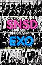 SNSD meets EXO  by zupermaria