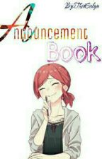 Announcement Book by TheoEvelyn