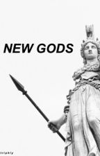 NEW GODS » JUSTICE LEAGUE by triphly