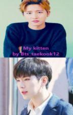 My kitten by Bts_taekook12