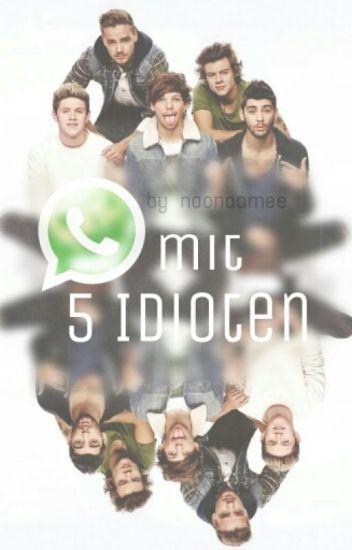 WhatsApp mit 5 Idioten