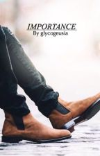 Importance • harry x louis • by -glycogeusia-