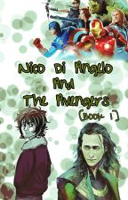 Nico Di Angelo and The Avengers by Hwi_17